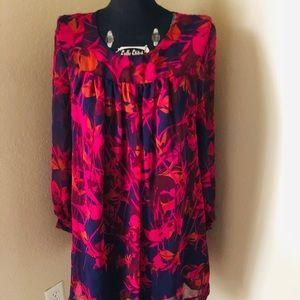 Pink/purple H&M floral dress